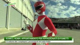 ROMICS, ROMA. GRANDE SUCCESSO PER LA KERMESSE DI FUMETTI E COSPLAY