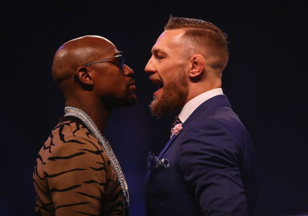 MAYWEATHER MCGREGOR GRANDE BOXE DIRETTA STREAMING