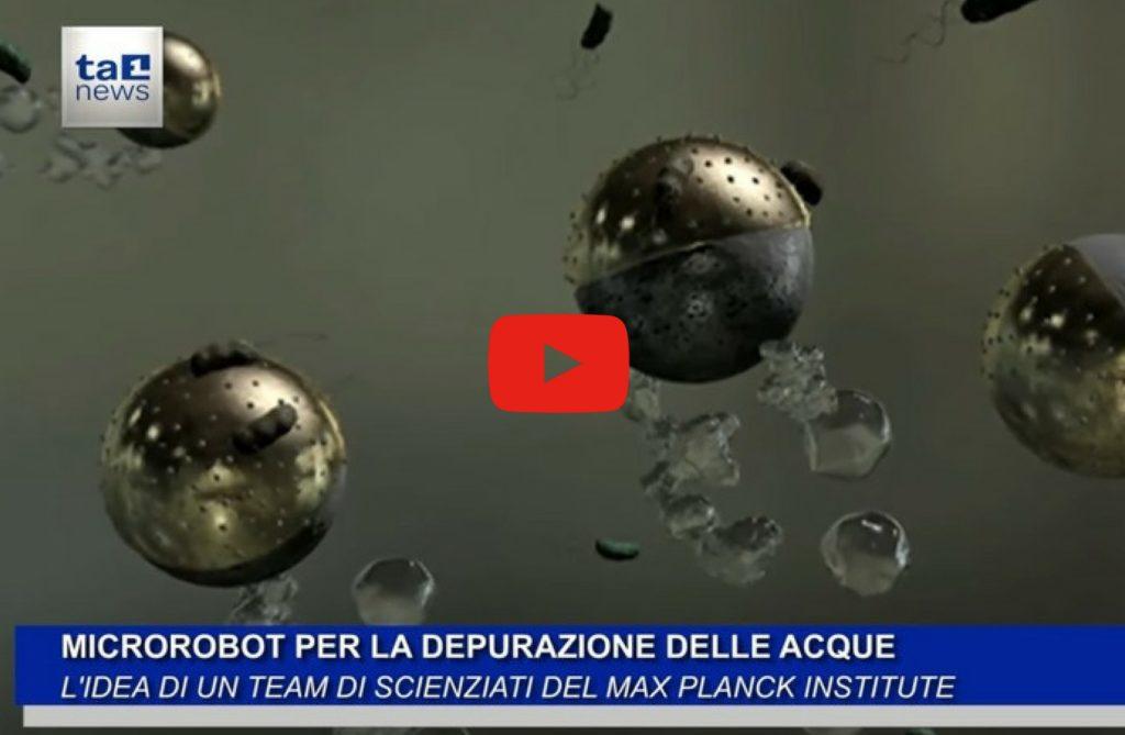 MICROROBOT PER LA DEPURAZIONE DELLE ACQUE