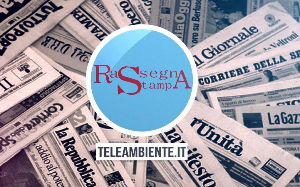 RASSEGNA STAMPA – TUTTI I GIORNI IN DIRETTA DALLE 09.30 SU TELEAMBIENTE