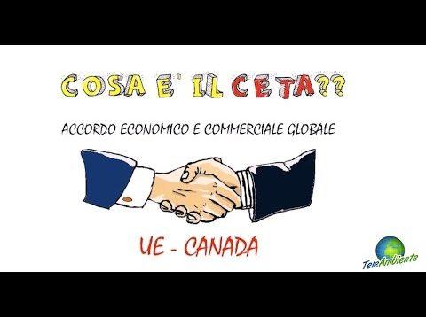 COSA E' IL CETA? – TeleAmbiente & BLince Animation