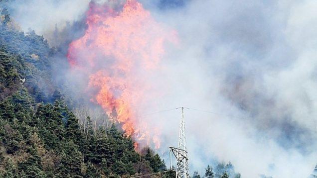 Fires in Susa Regione