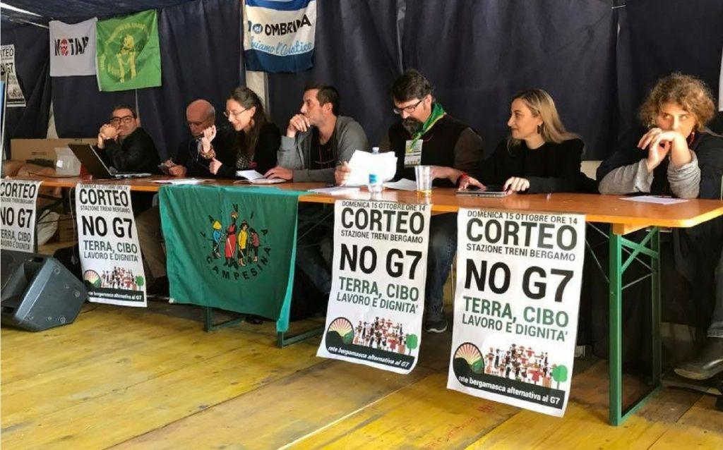 BERGAMO.  G7 AGRICOLTURA, TRA LE PROTESTE, L'OTTIMISMO DEL MINISTRO MARTINA