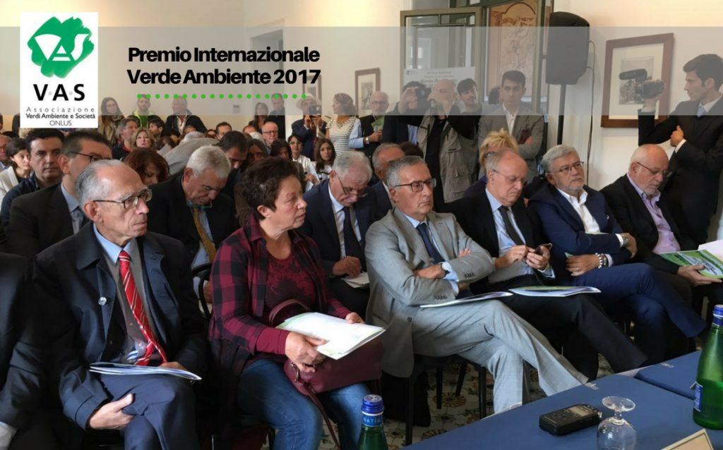 TORNA A SORRENTO IL PREMIO VERDE AMBIENTE 2017