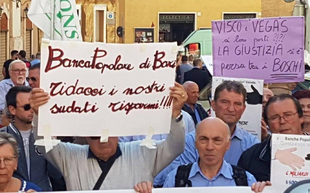 RISPARMIO TRADITO. GIORNATA DI PROTESTA A ROMA