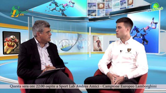 """IL PILOTA ANDREA AMICI A TELEAMBIENTE. """"CORAGGIO, TESTA, VOLONTA'"""""""