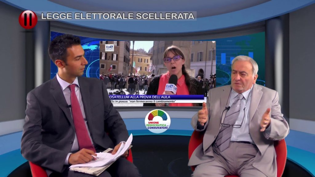 LEGGE ELETTORALE SCELLERATA – con Bruno De Vita