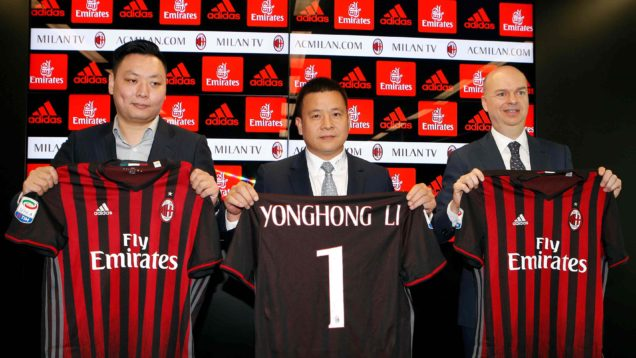 Milan. presidente Yonghong Li