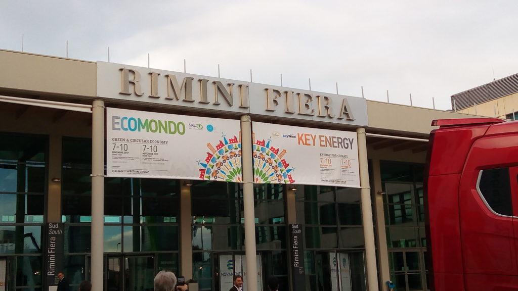 RIMINI, ECOMONDO 2017. AL VIA LA FIERA DELLA GREEN ECONOMY