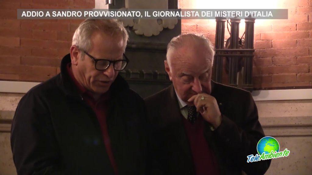 ADDIO A SANDRO PROVVISIONATO, IL GIORNALISTA DEI MISTERI D'ITALIA