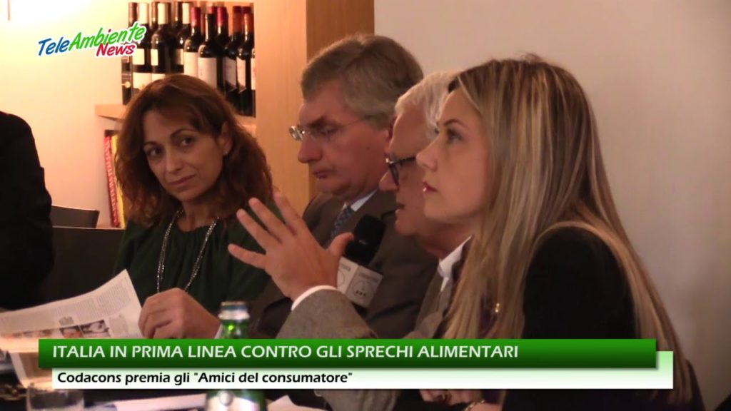 ITALIA IN PRIMA LINEA CONTRO GLI SPRECHI ALIMENTARI