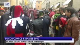 LUCCA COMICS & GAMES 2017, NUMERI RECORD NONOSTANTE IL MALTEMPO