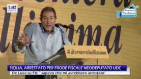 SICILIA, ARRESTATO PER FRODE FISCALE NEODEPUTATO UDC