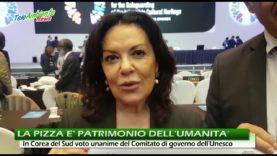 L'ARTE DELLA PIZZA DIVENTA BENE DELL'UMANITÀ