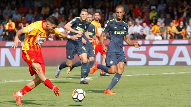 Soccer: Serie A; Benevento-Inter