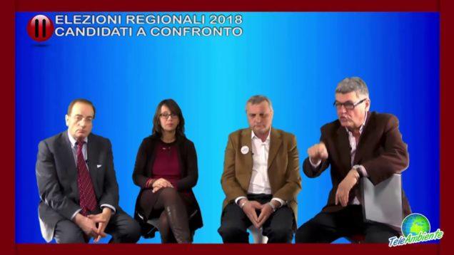 ELEZIONI REGIONALI 2018, CANDIDATI A CONFRONTO
