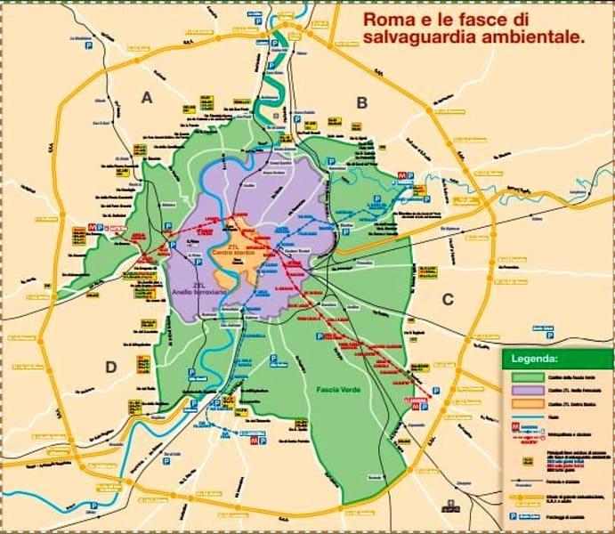 Blocco Traffico Roma Domenica 25 Febbraio Orari E Fascia