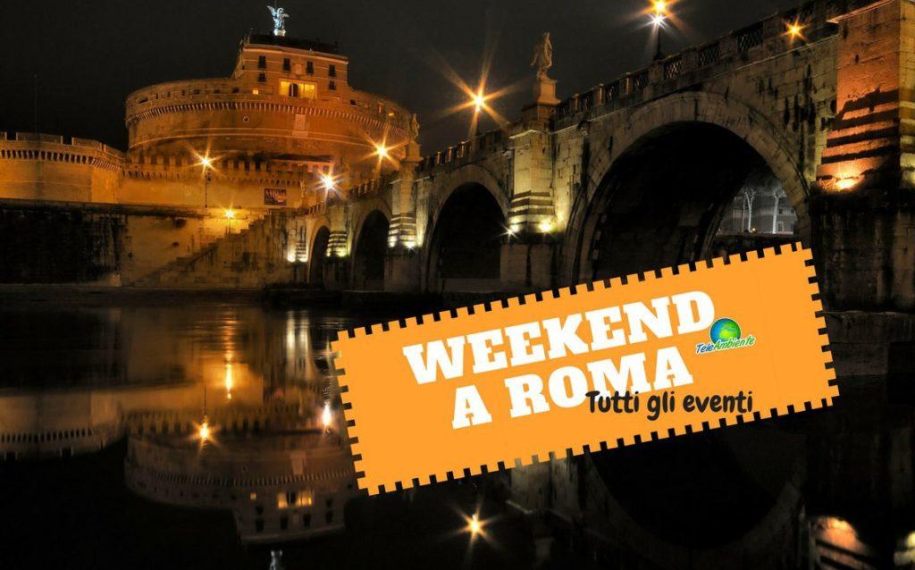 ROMA, MOSTRE ED EVENTI GRATUITI DEL WEEKEND