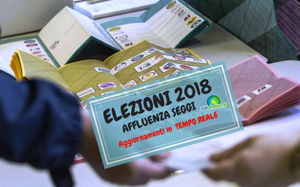 ELEZIONI 2018, AFFLUENZA ORE 23. TERZA ED ULTIMA RILEVAZIONE. AGGIORNAMENTI IN TEMPO REALE