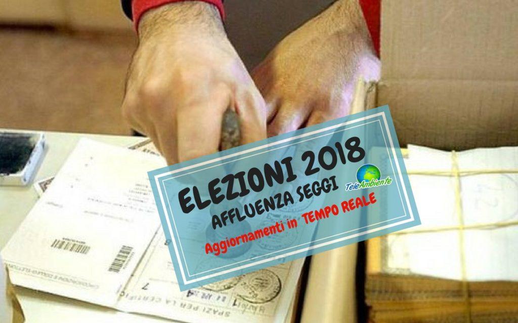 ELEZIONI 2018, AFFLUENZA ORE 12. PRIMA RILEVAZIONE. AGGIORNAMENTI IN TEMPO REALE