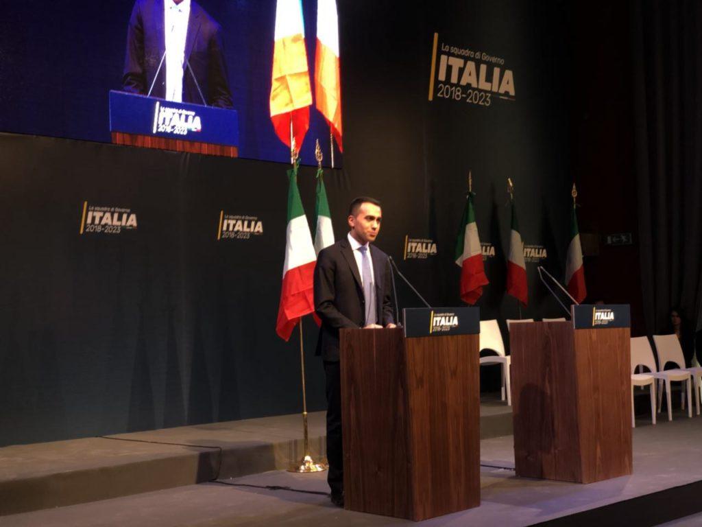 """DI MAIO PRESENTA LA SQUADRA DI GOVERNO: """"NON E' GOVERNO OMBRA"""""""