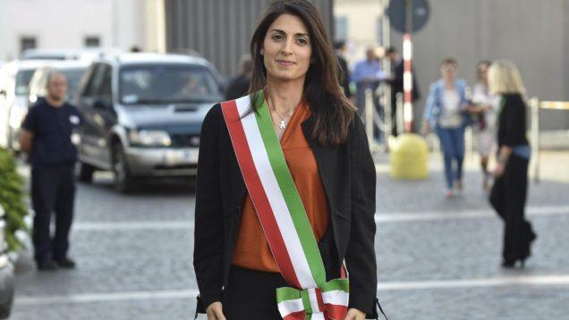 ++ Roma: Raggi in fascia tricolore, onorata servire città ++