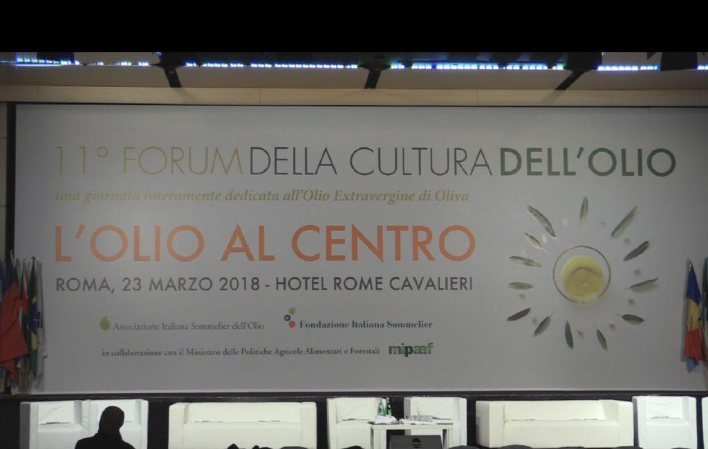 OLIO, 11^EDIZIONE FORUM DELLA CULTURA ROMA