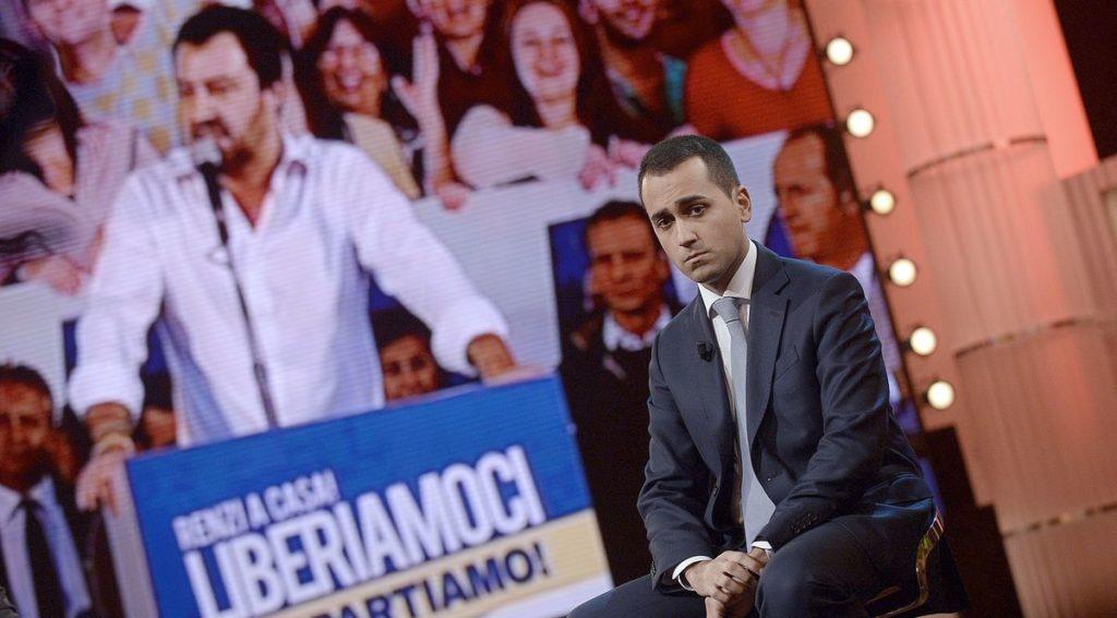 SALVINI DICE NO A LARGHE INTESE O INCIUCI, MA APRE AL M5S SU PRESIDENZA CAMERE