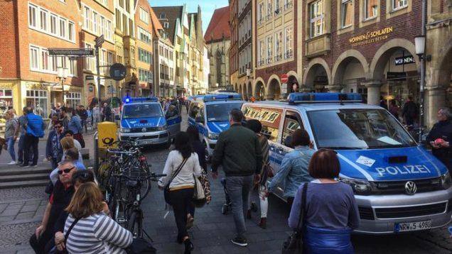 ++ Furgone sulla folla a Muenster, 3 morti e 30 feriti ++