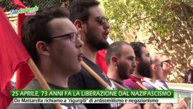 25 APRILE, 73 ANNI FA LA LIBERAZIONE DAL NAZIFASCISMO. A ROMA CORTEO ORFANO DELLA COMUNITA' EBRAICA