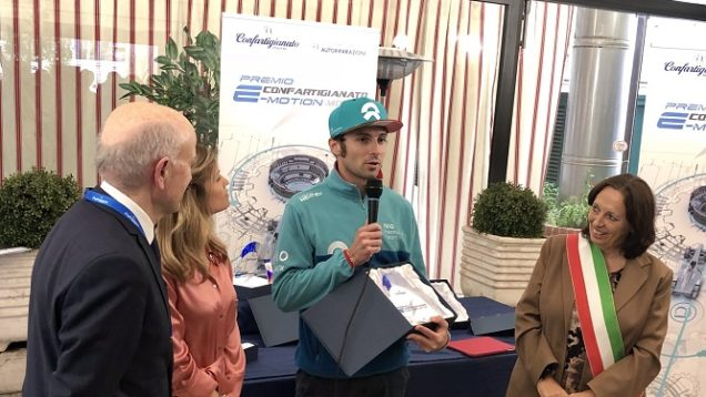 Filippi-premio-confartigianato-Formula-E-Roma