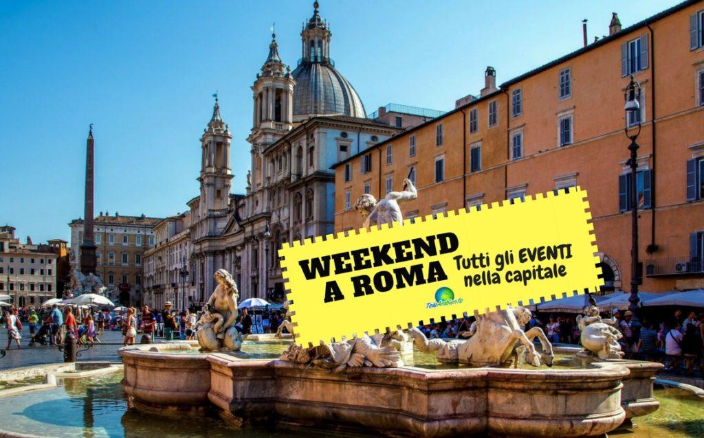 WEEKEND A ROMA, COSA FARE. MOSTRE ED EVENTI GRATUITI DAL 6 ALL'8 APRILE 2018