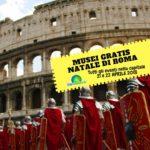 MUSEI GRATIS PER IL NATALE DI ROMA. TUTTI GLI EVENTI 21/22 APRILE 2018