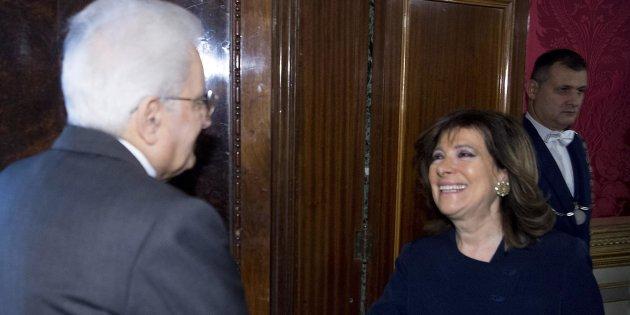 Consultazioni: terminato colloquio Casellati-Mattarella