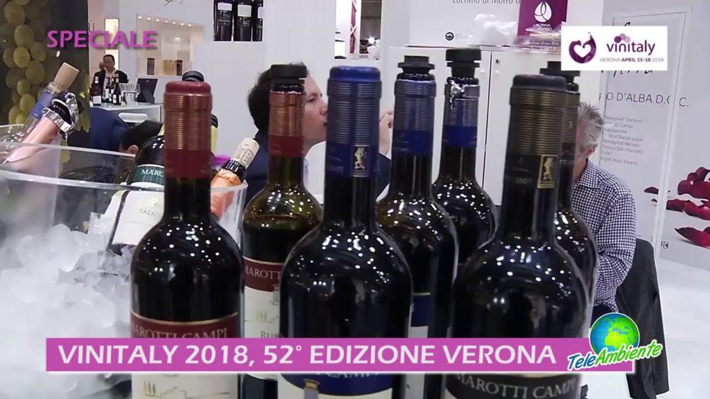 VINITALY 2018, 52^ EDIZIONE. A VERONA CRESCONO QUALITA' E NUMERO DEI BUYER PRESENTI