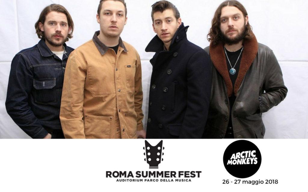 ROMA SUMMER FEST 2018, CALENDARIO COMPLETO CONCERTI