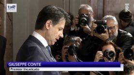 """GOVERNO, CONTE E' IL PREMIER INCARICATO: """"MASSIMA RESPONSABILITA', SARO' DIFENSORE POPOLO ITALIANO"""""""