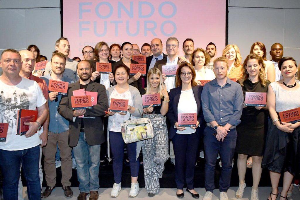 FONDO FUTURO, 2^ EDIZIONE.  ZINGARETTI E SMERIGLIO PREMIANO I VINCITORI. VIDEO