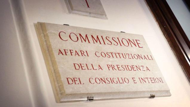Commissione_AffariCostituzionali