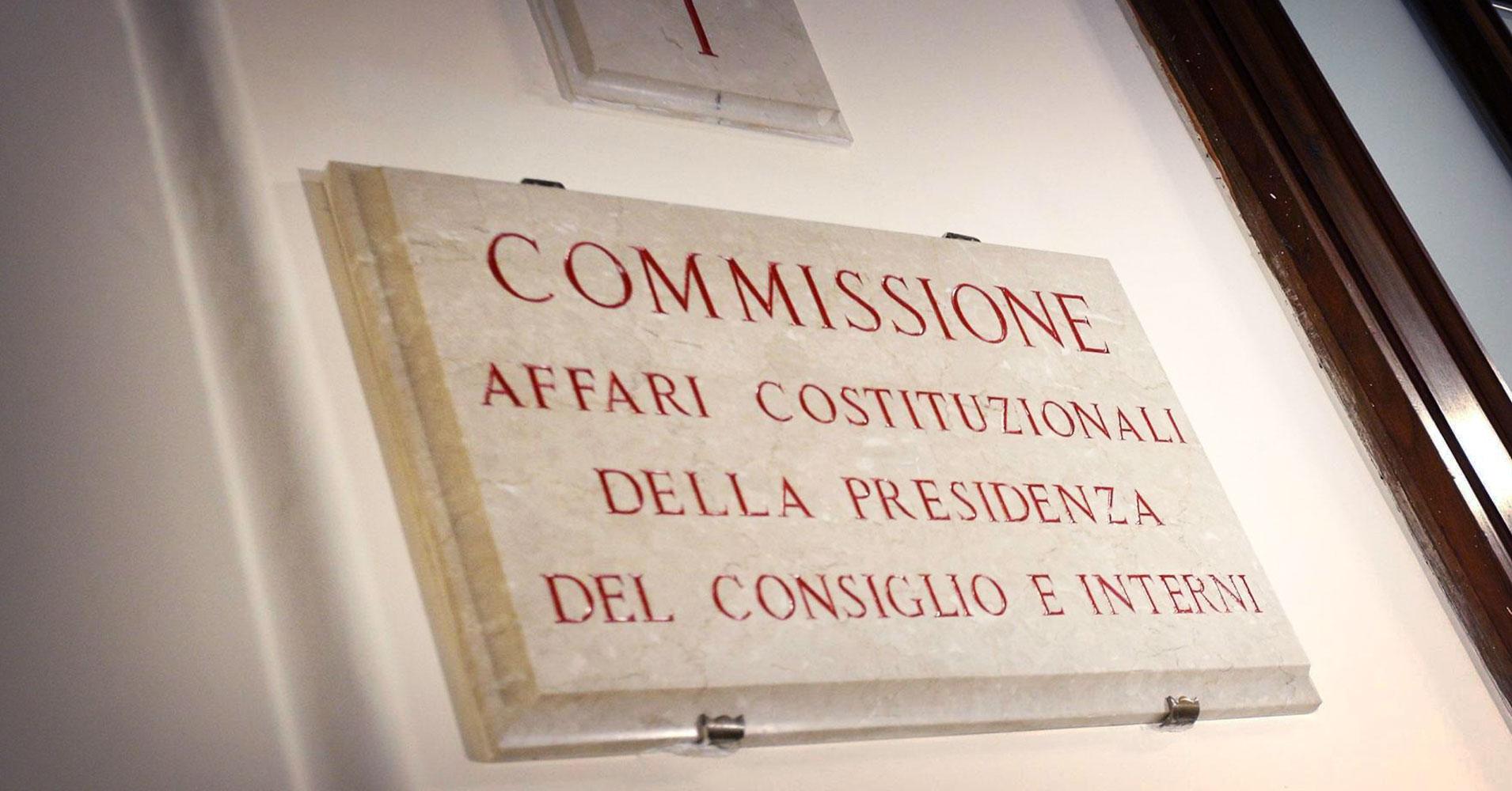 Commissione Giustizia Senato Calendario.Commissioni Parlamentari Ecco Chi Sono I Presidenti