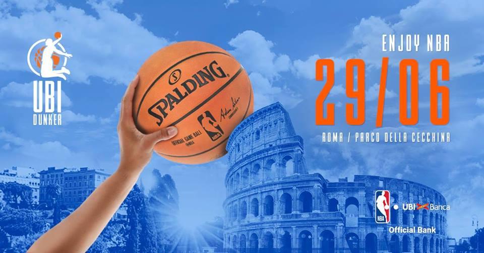 ENJOY NBA ROMA, VENERDI 29 GIUGNO. TUTTE LE INFO SULL'EVENTO