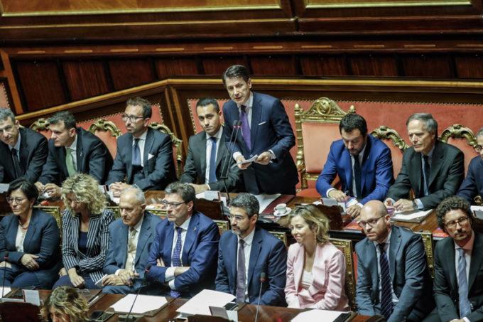 GOVERNO, NEL DISCORSO DI CONTE AL SENATO ANCHE TUTELA AMBIENTALE ED ECONOMIA CIRCOLARE