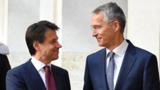 Conte meets Stoltenberg