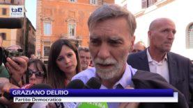 """PD IN PIAZZA PER DIFENDERE LA COSTITUZIONE, MARTINA: """"NON FAREMO SCONTI A QUESTO GOVERNO"""""""