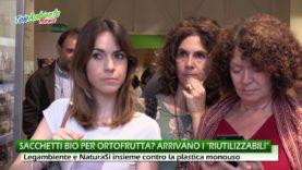 """SACCHETTI RIUTILIZZABILI PER L'ORTOFRUTTA, LA NUOVA """"ARMA"""" CONTRO LA PLASTICA MONOUSO"""