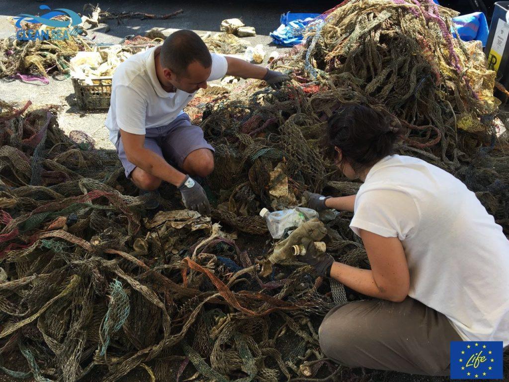 CLEAN SEA LIFE, PESCATORI IN PRIMA LINEA PER RACCOGLIERE I RIFIUTI