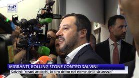 """MIGRANTI, ROLLING STONE CONTRO SALVINI: """"DA ADESSO CHI TACE E' COMPLICE"""""""