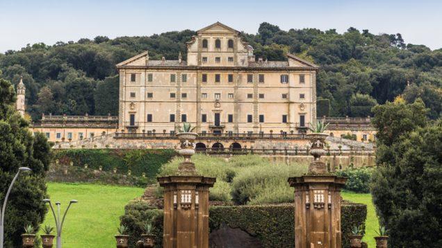 park and villa Aldobrandini in Frascati, Italy