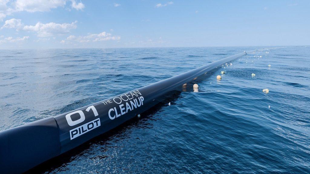 OCEAN CLEANUP, PARTE IL PROGETTO PER RIPULIRE IL MARE DALLA PLASTICA