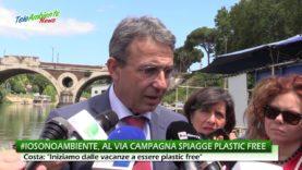 PLASTICA IN MARE, PARTE DOMENICA 5 AGOSTO LA CAMPAGNA ESTIVA #IOSONOAMBIENTE